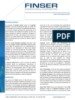 Reporte Semanal (3 de Agosto 2015)