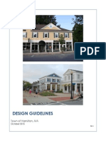 Town of Hamilton Proposed Design Guidelines