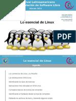 Lo Esencial de Linux