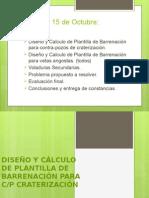 CONTRAPOZO DE CRATERIZACIÓN 15 DE OCTUBRE