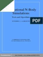 Aarseth S J - Gravitational N-Body Simulations.. Tools and Algorithms - Cambridge - 2003 - 0521432723 - 431s