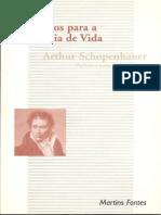 Soforismos Para a Sabedoria Da Vida Schopenhauer