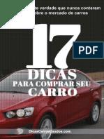 eBook 17 Dicas Para Comprar Seu Carro v 1