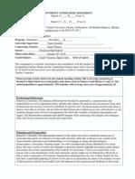 university supervisor (vance) report 3