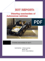 steering mechanism of autonomous vehicle