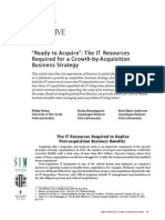 IT Growth Acquisition Strategy