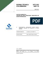 NTC-ISO5667-10