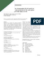Cerebral microdialysis of interleukin (IL)-1ß and IL-6