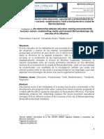Análisis de la relación entre educación, capacitación y productividad de las empresas de los sectores