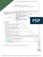 Item131 - Bases Neurophysiologiques, Mécanismes Physiopathologiques d'Une Douleur Aiguë Et d'Une Douleur Chronique