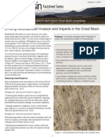 Limiting medusahead invasion and impacts in the Great Basin