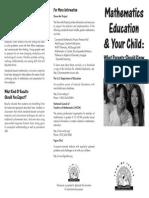 parent brochure