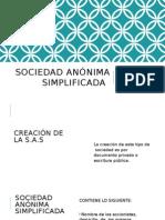 Sociedad Anónima Simplificada1