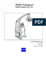Zeiss OPMI Pentero - User Manual