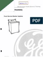 GE Washer Technical Training Updates