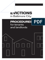 Eviction Booklet