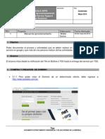 Manual de Aprovisionamiento - Negocio en Linea