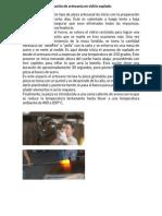 El Proceso de Elaboración de Artesanía en Vidrio Soplado