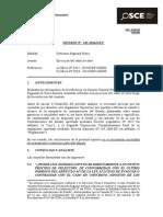 122-14 - GOB. REGIONAL de PIURA - Ejecución Del Saldo de Obra