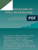 Defensoría Escolar del Niño y del Adolescente.ppt