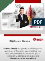Diploma en Gerencia de Negocios Avícolas - II Promociónagosto_pptx