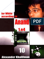 Opening for White According to Anand 1.e4 Vol.10