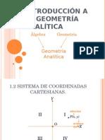 Introduccion a La Geometria Analitica