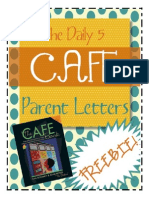 parent daily 5:cafe letter