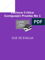 Lectura Crítica (Lenguaje) Prueba No 1.pptx