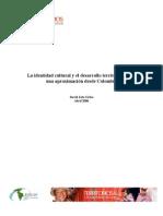 Identidadcultural Desarrollo Territorial Colombia