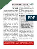 Pre Strike Notice Aug 2015