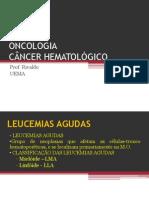 ONCOLOGIA Leucemias Agudas e Crônicas