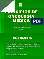 Princípios de Oncologia Medica