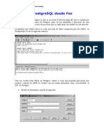 EL API de PostgreSQL Desde Fox