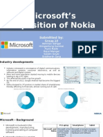 microsoft acquisition of Nokia