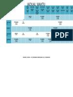 Jadual Waktu Persendirian 2014