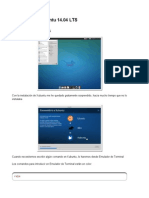 Tras Instalar Xubuntu 14