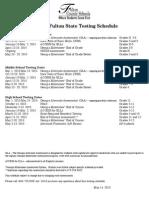 testing calendar 15-16