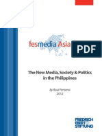 The New Media Society and Politics in the Philippines