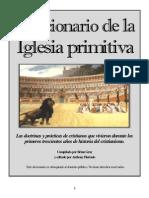 Diccionario de La Iglesia Primitiva Brian Gray