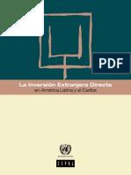 La IED en América Latina y El Caribe_CEPAL_2013