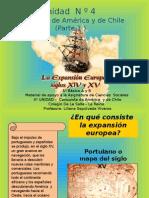 Conquista de America y de Chile Primera Parte
