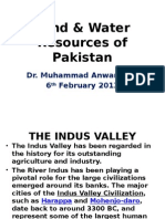 Land and Water Resources Pakistan 6th Feb