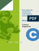 Encuesta de Consumos Culturales y Entorno Digital - Musica