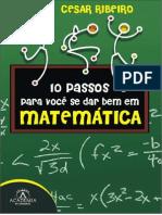 Amostra 10 Passos Se Dar Bem Matematica