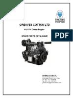 Cropton Graeves 160kva DG parts catlogue