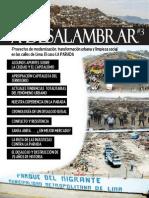 A-Desalambrar #3. Procesos de Modernización, Transformación Urbana y Limpieza Social en Lima - EL CASO DEL MERCADO MAYORISTA Nº 1 LA PARADA
