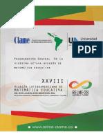 programacion RELME 2014