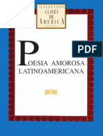 Poesía amorosa latinoamericana
