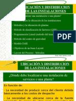 Seleccion Ubicacion y Distribucion de Instalaciones ljij